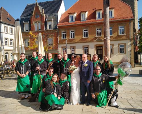 Hochzeit von Petra und Matthias